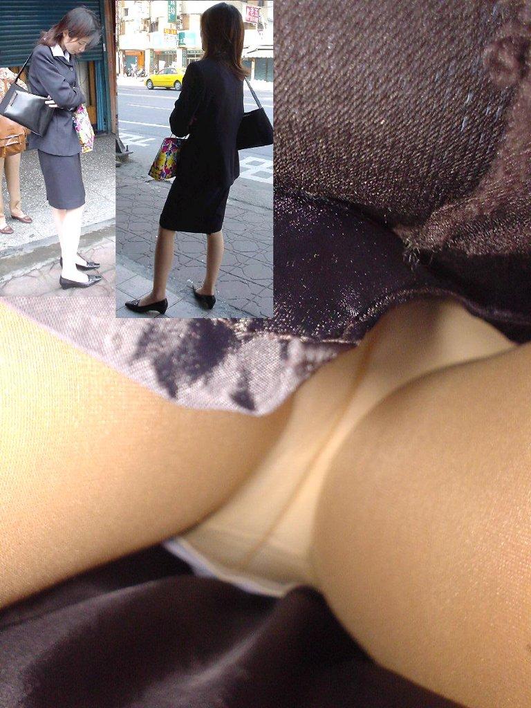 OLタイトスカートパンティ下着覗き願望エロ画像26枚目