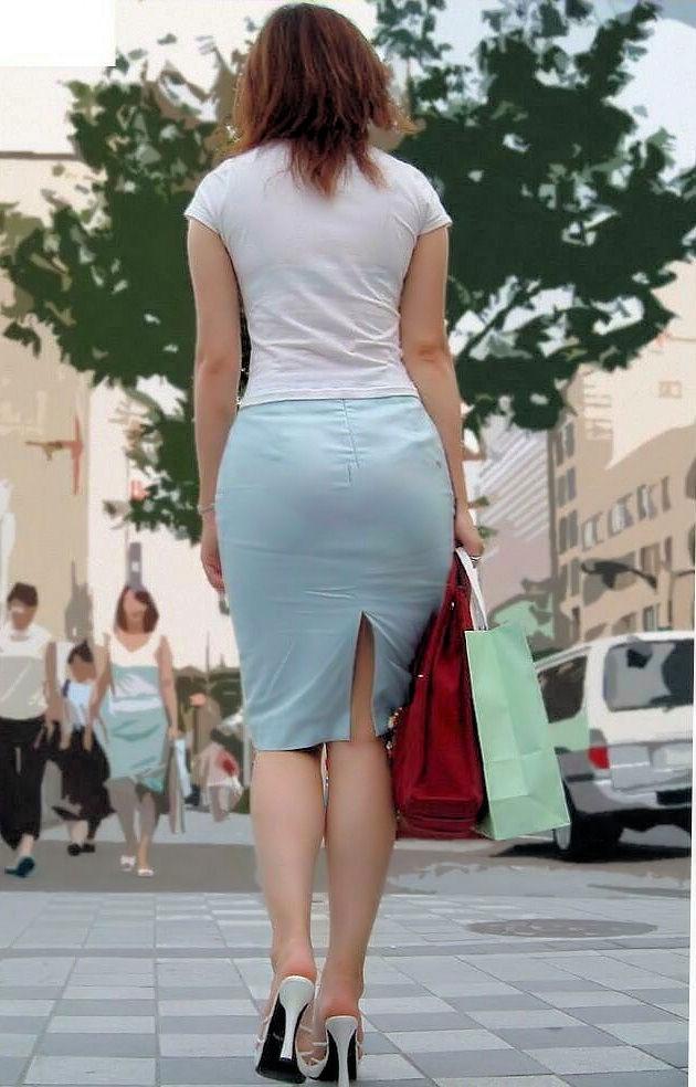 俺まとめ超勃起するOLお姉さんタイトスカート画像!16枚目