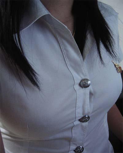 タイ女子大生のタイトスカート白ブラウスが眩しい!6枚目