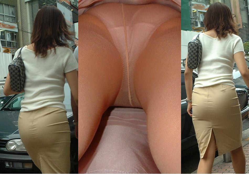 素人OLお姉さんのスカートの中身を逆さ撮りしたエロ画像11枚目