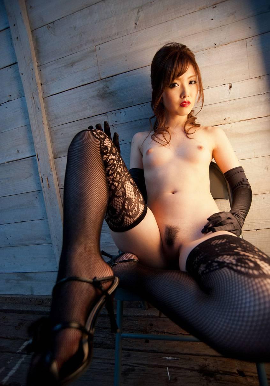セクシー網タイツガーターベルト痴女エロ画像13枚目