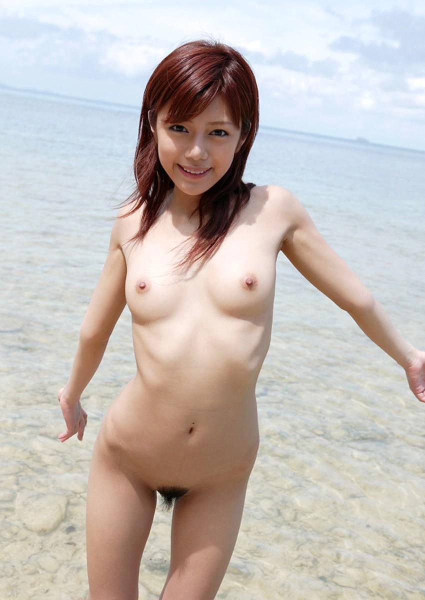 全裸ヌードクビれ美人剛毛マン毛まんこエロ画像13枚目