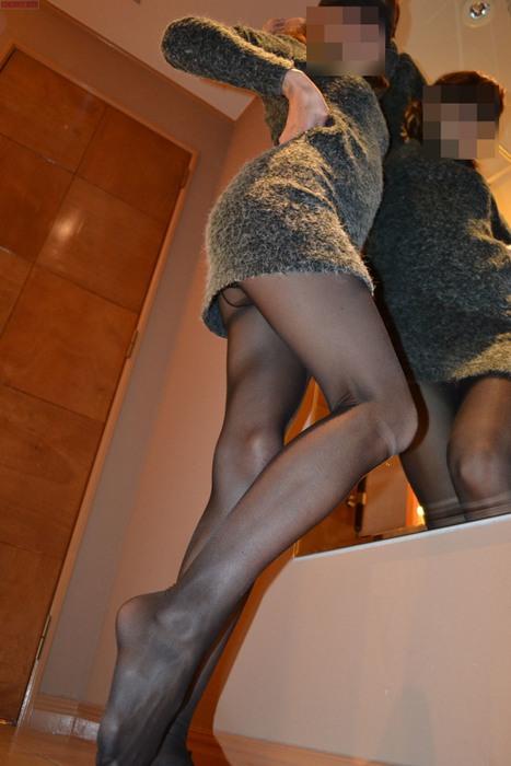 パンスト履いた脚がさらに美しく美脚お姉さん8枚目
