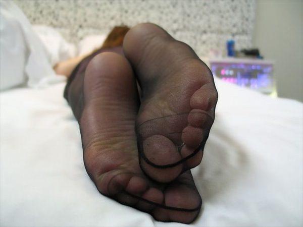疲れたパンスト足裏の魅力を引き出す美脚女7枚目