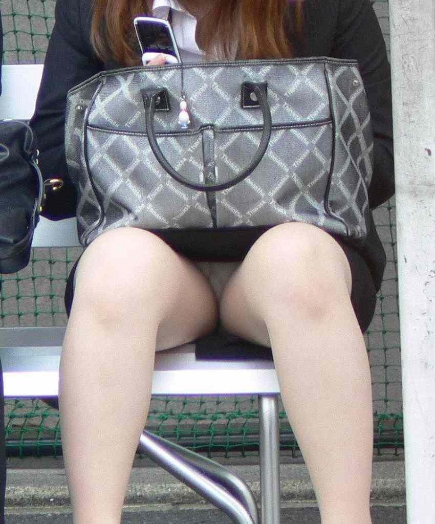 タイトミニ美脚パンチラ魅惑の三角ゾーン画像15枚目