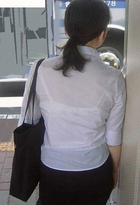 ブラジャー丸見えブラ透けブラウスとシャツ画像15枚目