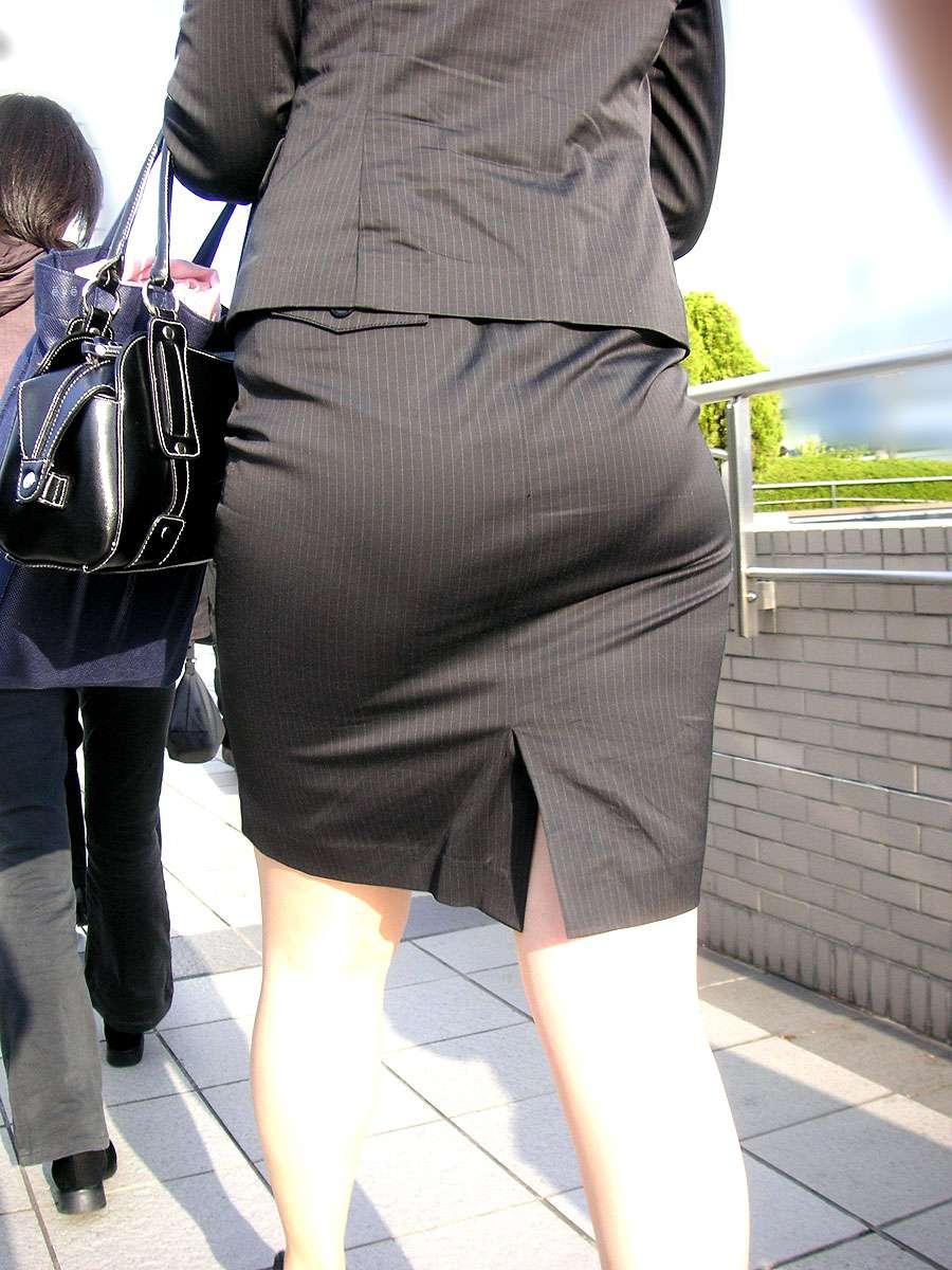 OLタイトスカートの尻!しり!シリ!お尻画像!9枚目