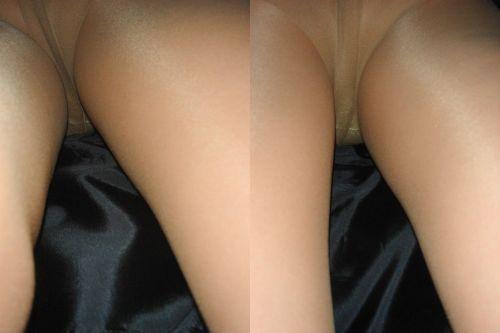 タイトスカートスーツのお姉さん逆さ撮りエロ画像14枚目