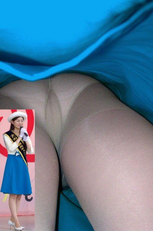 コンパニオンお姉さんのタイトスカート逆さ撮り13枚目