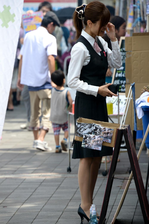 リクスーOLの初々しいお尻とタイトスカート画像8枚目