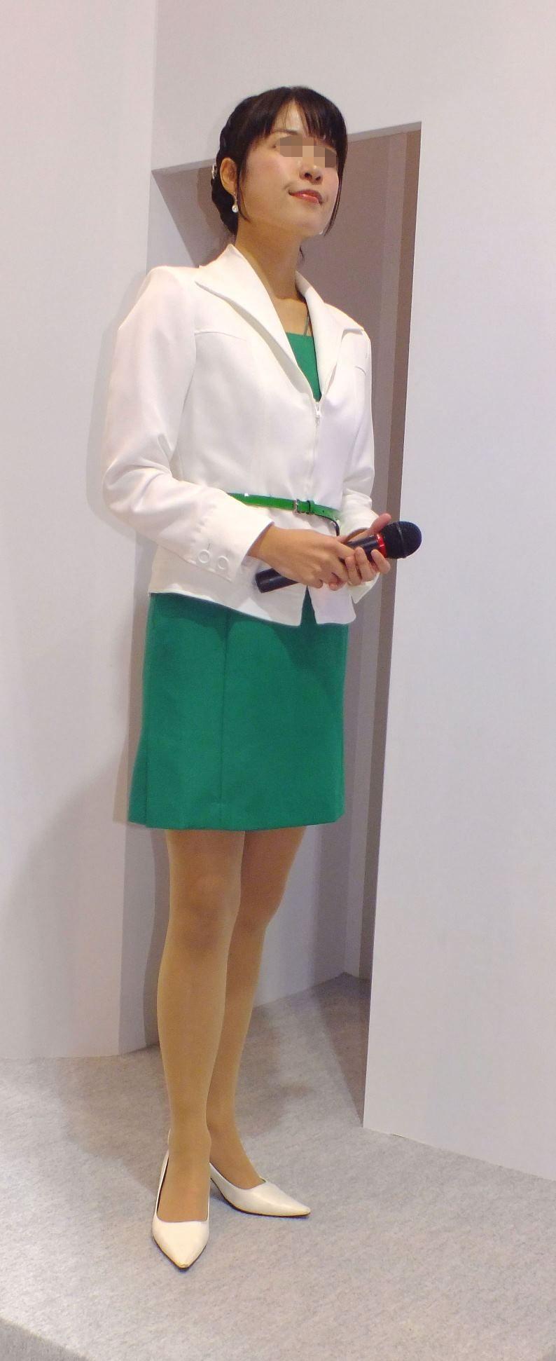 リクスーOLの初々しいお尻とタイトスカート画像10枚目