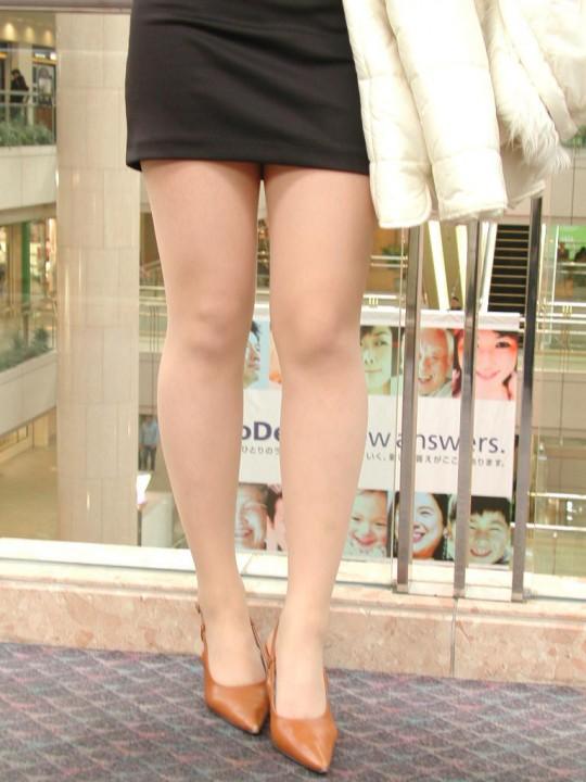 美脚OLのタイトミニスカートやパンスト画像6枚目