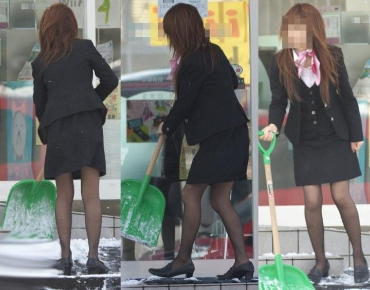 淫乱OL痴女のタイトスカートマニア向けエロ画像5枚目