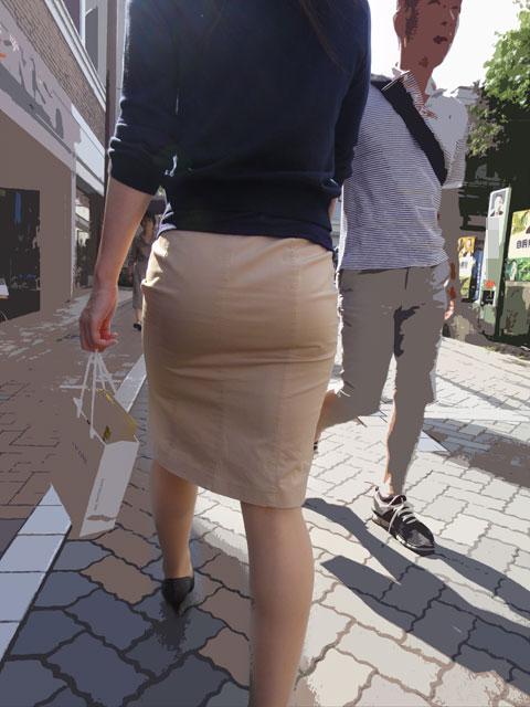 OLタイトスカートの誘惑シーン連発のエロ画像15枚目