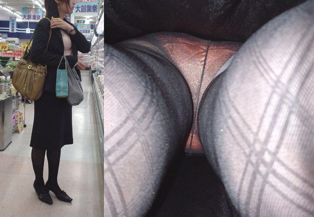 清楚なOLの逆さタイトスカート内盗撮エロ画像13枚目