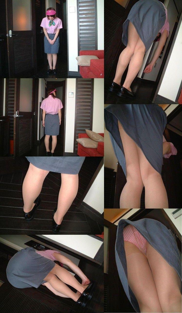 店員さんのトイレを盗撮のマクドナルドエロ画像15枚目