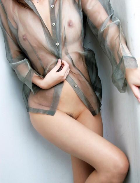 美乳OLのフロントホックの誘惑ランジェリーエロ画像10枚目