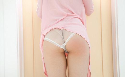美尻OLの透け透けなフルバックパンティエロ画像15枚目