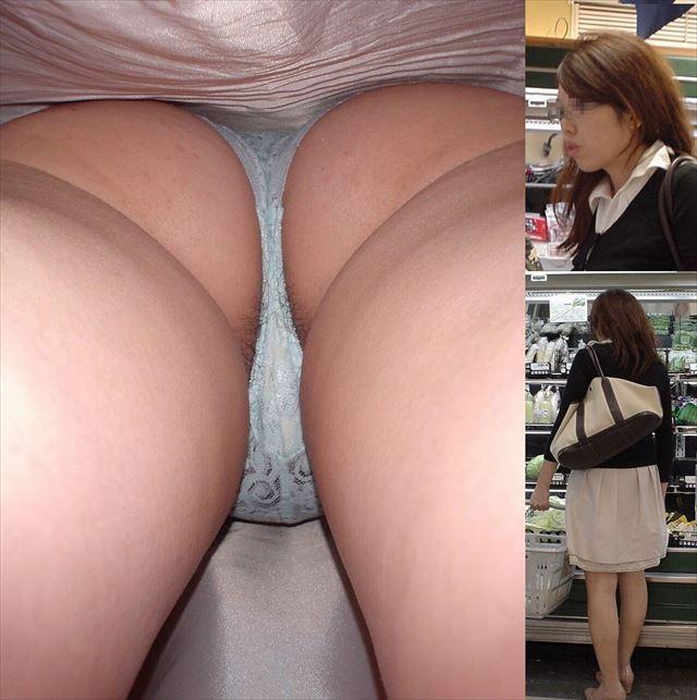 美人OLの黒スト逆さタイトスカート盗撮エロ画像15枚目