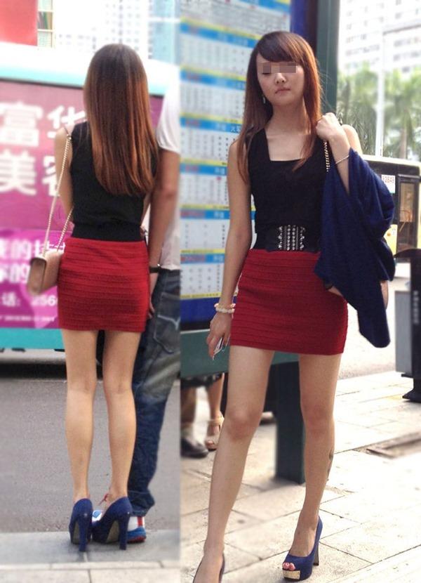 様々な表情を魅せるOLの淫乱タイトスカート画像15枚目