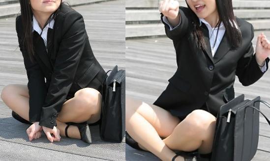 就活OLが人事担当者に異常なSM面接を受けるM女エロ画像3枚目