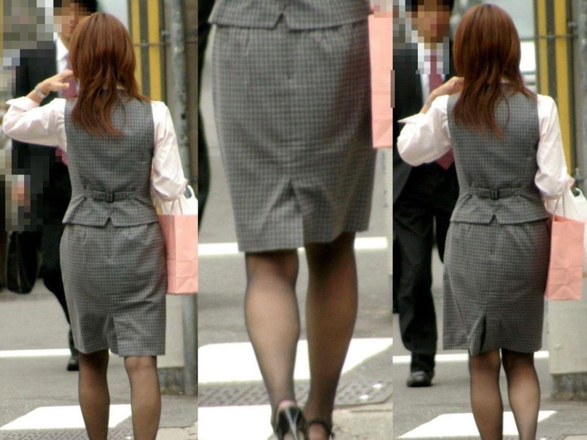 美脚でロングヘアーのタイトスカートOLエロ画像14枚目