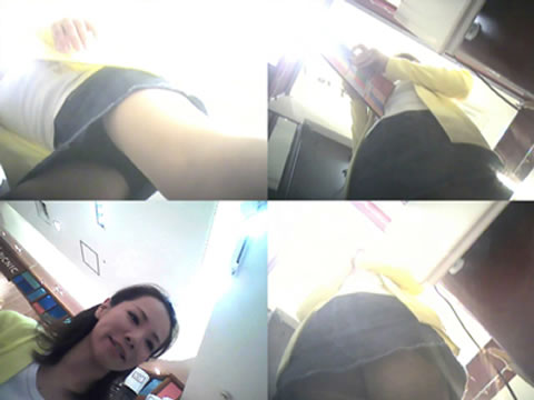 デパートで働くOLお姉さんを盗撮したエロ画像7枚目
