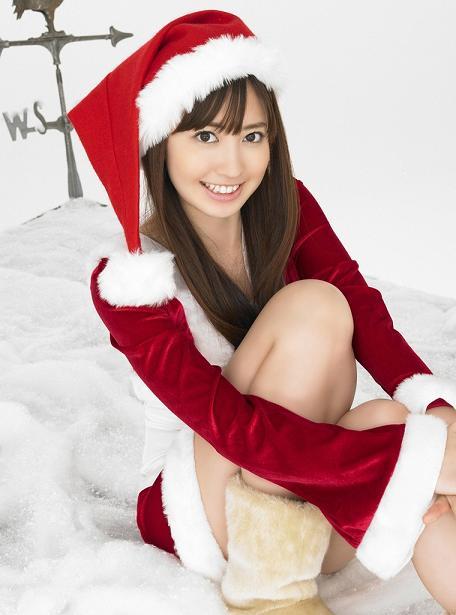 エロ可愛いセクシーサンタのクリスマスはOLのエロ画像16枚目